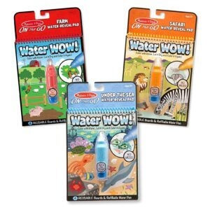 3-Pack Melissa and Doug Water Wow! Water Reveal Pad – Price Drop – $11.89 (was $16.99)