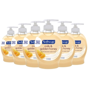 6-Pack Softsoap Moisturizing Liquid Hand Soap – $3.82 – Clip Coupon – (was $5.27)