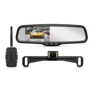 AUTO-VOX T1400 Upgrade Wireless Backup Camera Kit – Clip Coupon + Coupon Code 376KRZHL – $98.49 (was $149.99)