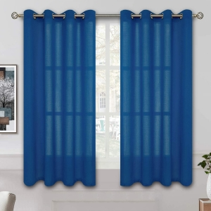 BGment Linen Look Semi Sheer Curtains – $8.40 – Clip Coupon – (was $27.99)