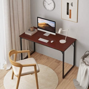 Coleshome 47 Inch Modern Simple Style Desk – $39.98 – Clip Coupon – (was $49.98)