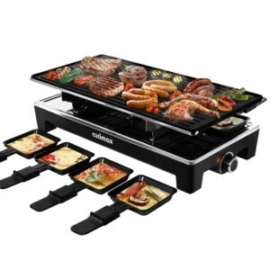 Cusimax 2-in-1 Electric Grill with 8 Paddles – Coupon Code 40YKSZDL – Final Price: $59.97 (was $99.95)