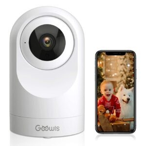 Goowls 1080P WiFi Home Security Camera – Coupon Code OWXXAMPS – Final Price: $17.99 (was $29.99)