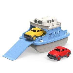 Green Toys Ferry Boat with Mini Cars Bathtub Toy – Price Drop – $14.99 (was $19.99)