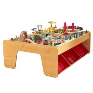 KidKraft Waterfall Mountain Wooden Train Set and Table – Price Drop – $85.26 (was $165.49)