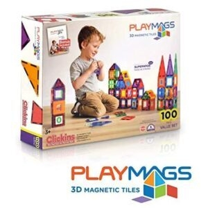 Playmags 3D Magnetic Blocks for Kids – Lightning Deal + Clip Coupon – $37.49 (was $57.99)