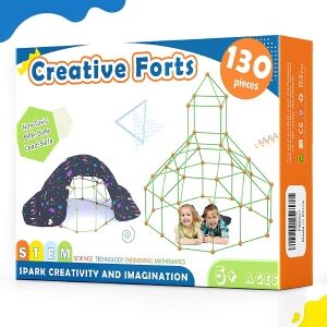 Tiny Land Kids Creative Fort Building Kit – Coupon Code – Final Price: $25.99 (was $39.99)