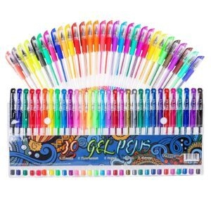 30 Colors Aen Art Gel Pens for Adult Coloring Books – Clip Coupon + Coupon Code 50YV28KM – $2.82 (was $7.64)