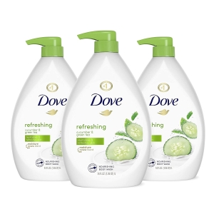 3-Pack Dove Refreshing Body Wash with Pump – Price Drop + Clip Coupon – $18.42 (was $26.82)
