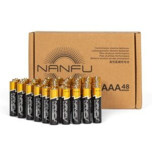 48-Pack Nanfu High Performance AAA Alkaline Batteries – $10.99 – Clip Coupon – (was $19.99)