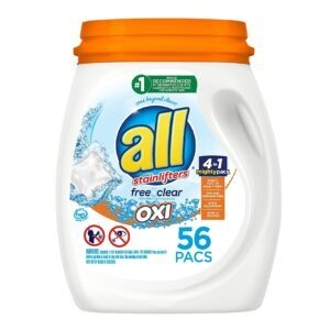 56-Count All Mighty Pacs Laundry Detergent – $8.86 – Clip Coupon – (was $12.19)