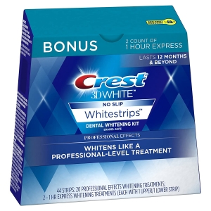 Crest 3D White Professional Effects Whitestrips Teeth Whitening Kit – Prime Exclusive – Price Drop – $27.96 (was $47.88)