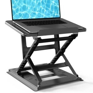 Huanuo Adjustable Computer and Tablet Riser – Coupon Code HMCIMK8T – Final Price: $14.76 (was $32.79)