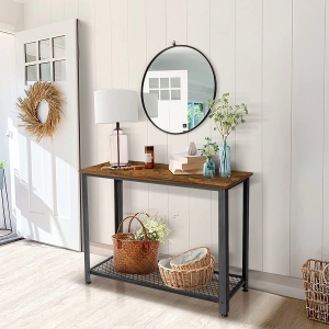 KingSo Console Table – Clip Coupon + Coupon Code KINGSO264DK – $44.09 (was $62.99)