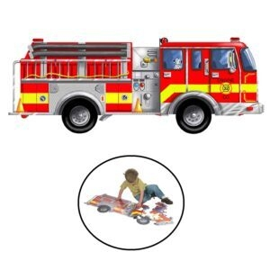 Melissa and Doug Fire Truck Giant Floor Puzzle – Price Drop – $7.11 (was $10.36)