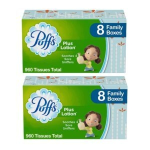 Puffs Plus Lotion Facial Tissues – Add 2 to Cart – Price Drop at Checkout – $17.58 (was $22.58)