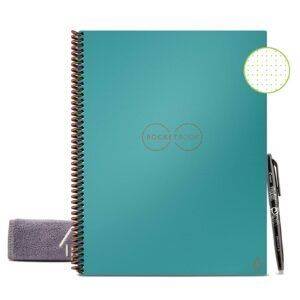 Rocketbook Smart Reusable Notebook w/ Pen and Cloth Included  – Price Drop – $17.14 (was $24.49)