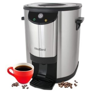 West Bend Stainless Steel Commercial Grade 30-Cup Coffee Urn – Price Drop – $69.99 (was $119.99)