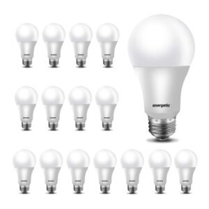 16-Pack energetic A19 LED Light Bulb – Coupon Code 2CG4N5RZ – Final Price: $9.99 (was $19.99)
