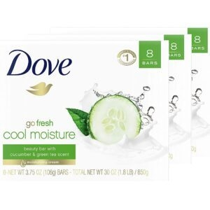 24-Count Dove Go Fresh Gentle Cleanser Bar – Price Drop + Checkout Savings – $20.26 (was $28.91)