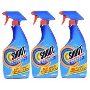 3-Pack Shout Advanced Spray and Wash Laundry Stain Remover Gel – $9.21 – Clip Coupon – (was $12.54)