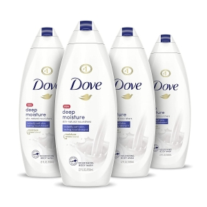 4-Pack Dove Deep Moisture Body Wash – $13.43 – Clip Coupon – (was $18.32)