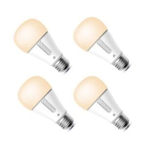 4-Pack Kasa A19 Dimmable Smart LED Bulb – $29.99 – Clip Coupon – (was $35.99)