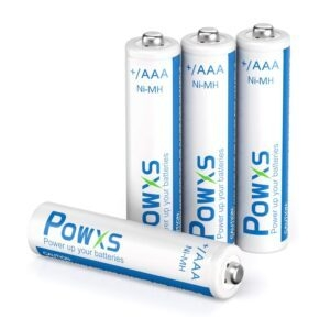 4-Pack POWXS AAA Rechargeable Batteries – Coupon Code 609FP12A – Final Price: $2.80 (was $6.99)