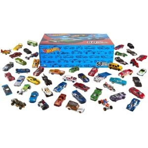 50-Car Hot Wheels Pack  – Price Drop + Clip Coupon – $36.79 (was $45.99)