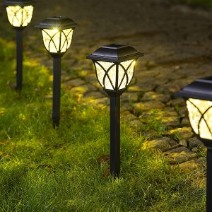 6-Pack Solpex Solar LED Pathway Lights – Clip Coupon + Coupon Code KWACV9FO – $14.99 (was $29.99)