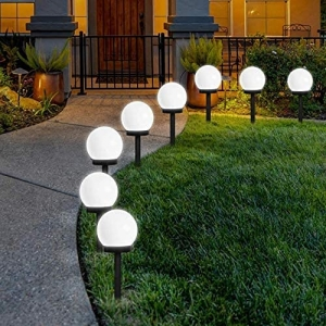 8-Pack Otdair Solar Globe LED Lights – Coupon Code 507Q9C4X – Final Price: $14.99 (was $29.99)