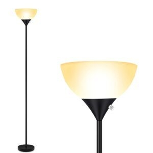 BoostArea LED Floor Lamp – Clip Coupon + Coupon Code BOOST5011 – $19.49 (was $38.99)