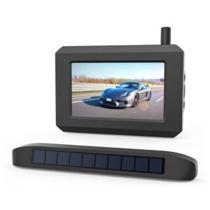 Boscam Solar Wireless Backup Camera – Clip Coupon + Coupon Code LRDCY7D5 – $112.79 (was $169.99)