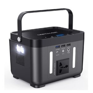 DBPOWER Portable Solar Generator Power Station – Price Drop + Clip Coupon – $94.99 (was $179.99)