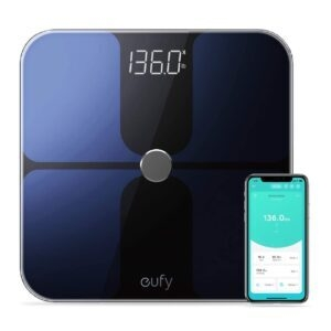 eufy by Anker Smart Scale with Bluetooth – Clip Coupon + Coupon Code eufyscale – $26.99 (was $44.99)