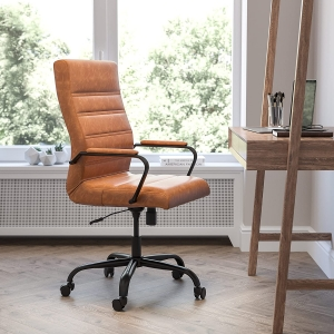 Flash Furniture LeatherSoft Executive Desk Chair – Price Drop – $178.77 (was $264.99)