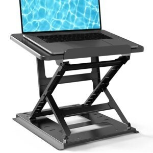 Huanuo Adjustable Laptop Stand for Desk – $18.99 – Clip Coupon – (was $37.99)