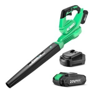 Kimo 20V Cordless Leaf Blower w/ Battery and Charger – Clip Coupon + Coupon Code 4WL8YL3A – $40.39 (was $79.99)