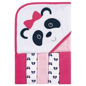 Luvable Friends Unisex Baby Hooded Towel with Five Washcloths – Price Drop – $7 (was $10.87)