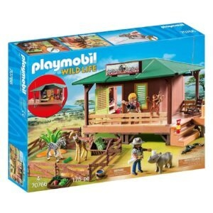 PLAYMOBIL Ranger Station with Animal Area – Price Drop – $32.50 (was $59.99)