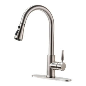 Rulia Pull-Down Kitchen Faucet – Lightning Deal- $33.15 (was $53.99)