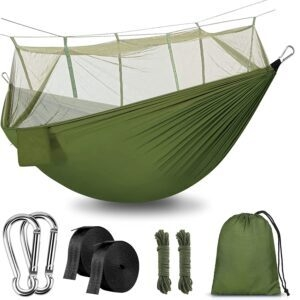 Rusee Outdoor Hammock with Net – Coupon Code 50Y3WVI3 – Final Price: $14.99 (was $29.99)