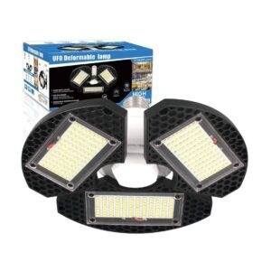 ZJOJO Deformable LED Garage Ceiling Light – Coupon Code 504ZN9FO – Final Price: $7.49 (was $14.99)