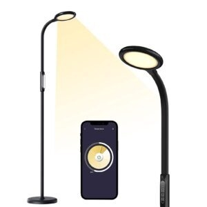 Meross Dimmable Smart LED Floor Lamp w/ Tunable White, Schedule and Timer – $54.99 – Clip Coupon – (was $79.99)