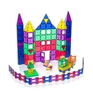 Playmags 150-Piece Magnetic Building Tiles Set – Coupon Code 984X9XEB – Final Price: $47.99 (was $79.99)