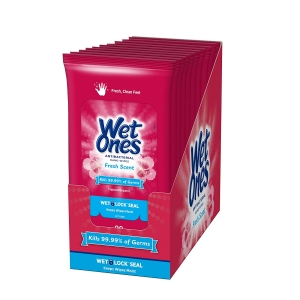10-Pack Wet Ones Antibacterial Hand Wipes – $12.02 – Clip Coupon – (was $14.14)