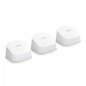 Amazon eero 6 dual-band mesh Wi-Fi 6 system (1 router + 2 extenders)  – Price Drop – $195 (was $279)